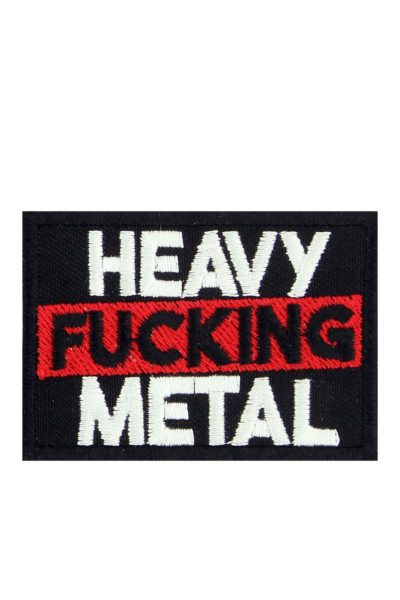Heavy Fucking Metal Patch