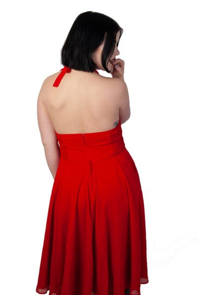 Monroe Dress Red