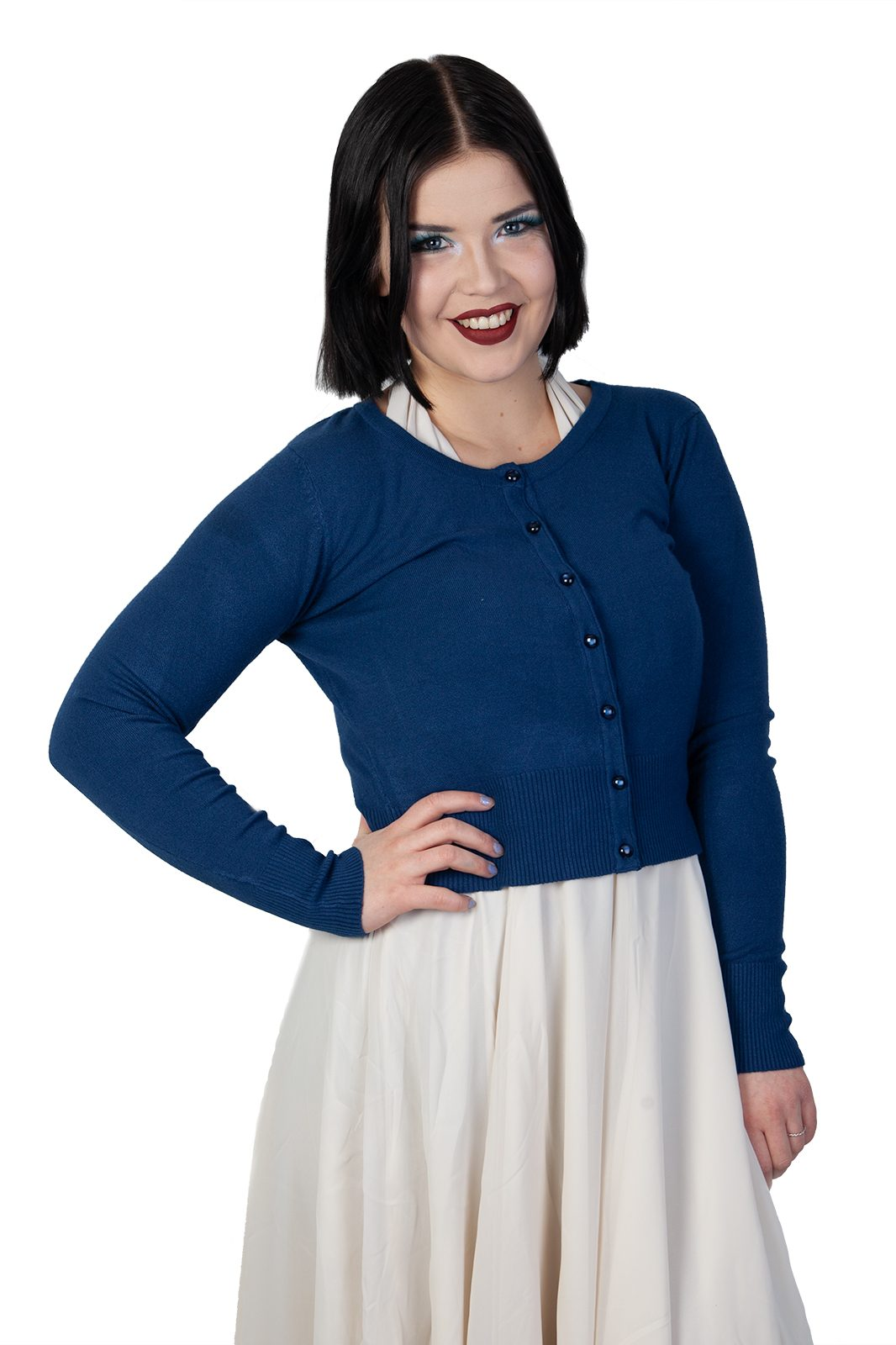 Paloma Cardigan Navy Blue