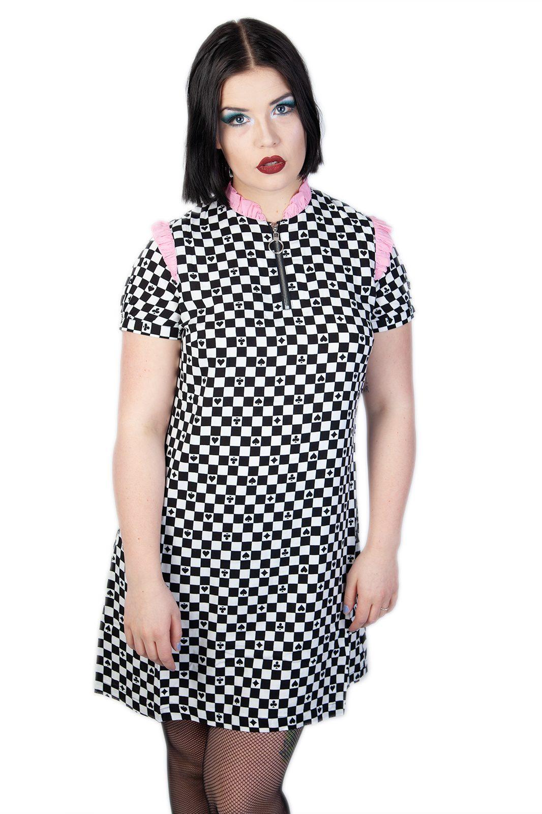 Pokerface Mini Dress