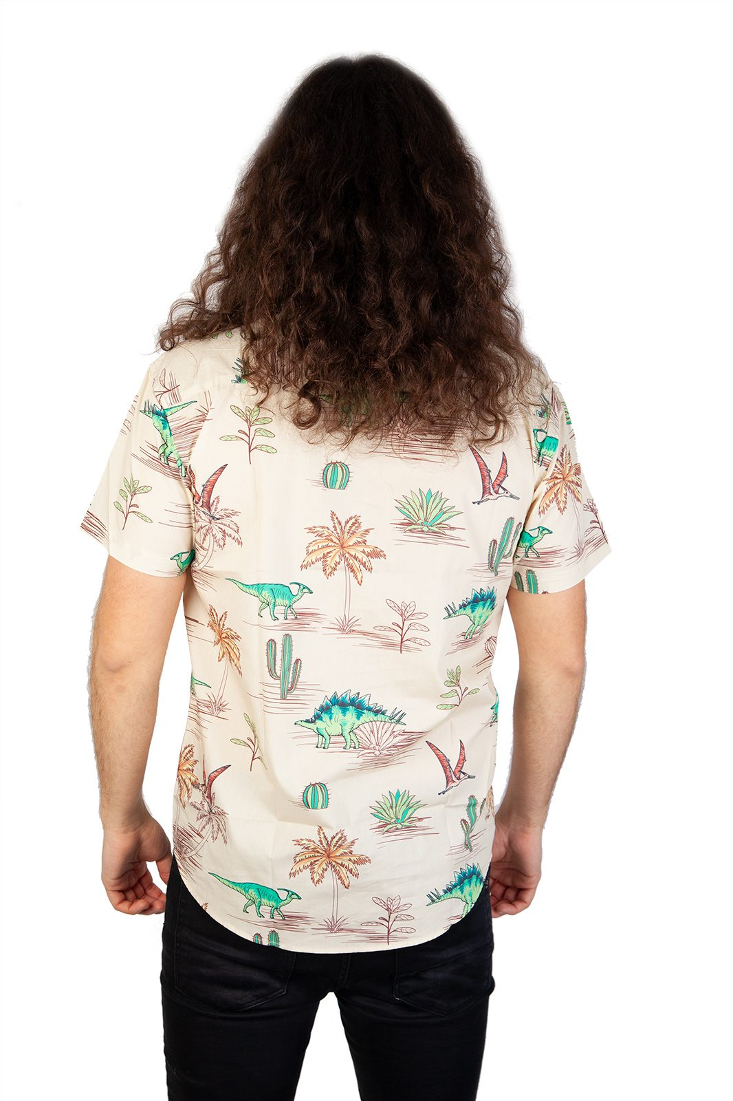 Discontinued Reptiles Shirt Brown