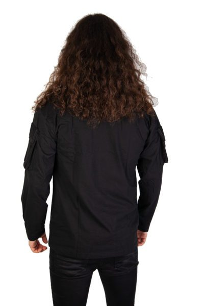 US Longsleeve Tee Sleeve Pockets Black