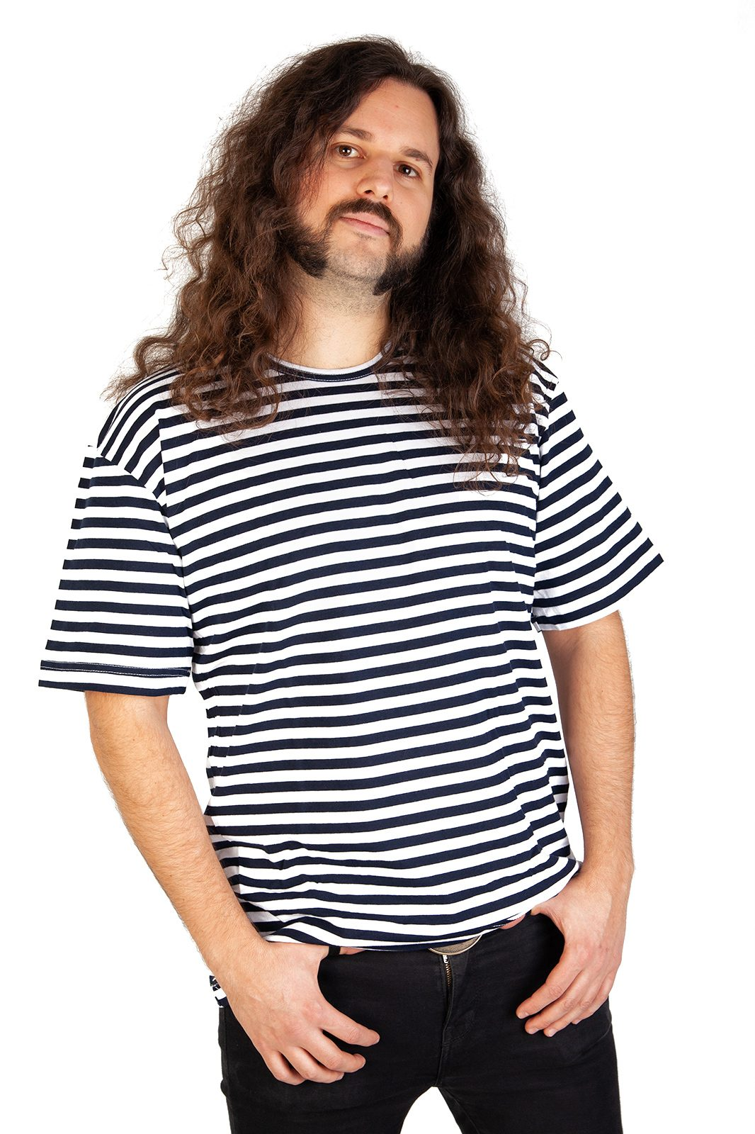 Marine Striped T-shirt White