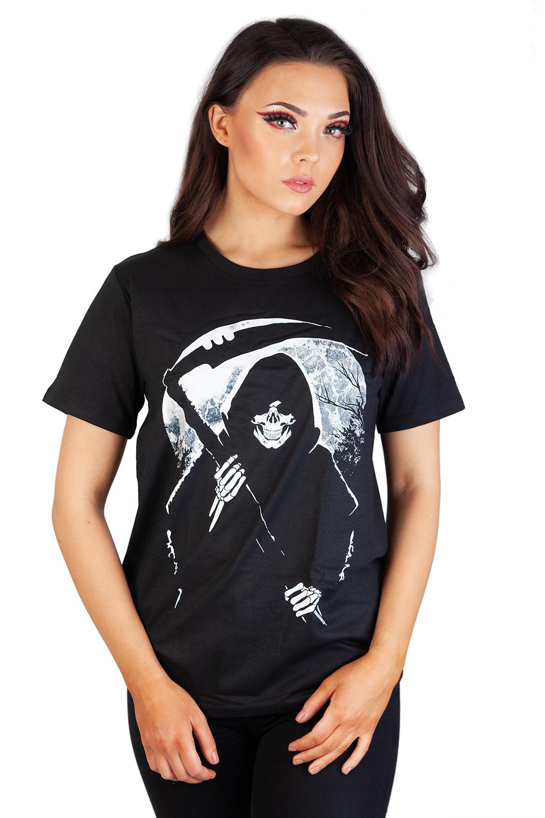 Tee Reaper Moon Black