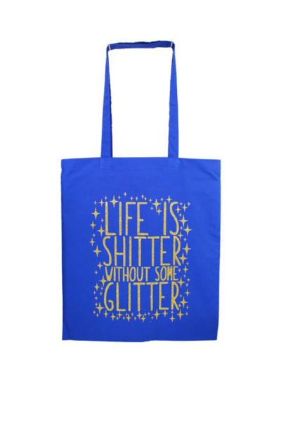 Life Is Shitter Tote Bag