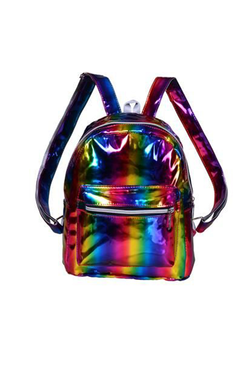 Rainbow Holographic Backpack