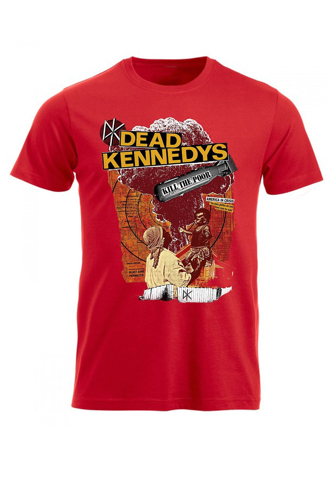 Tee Dead Kennedys Kill The Poor Red