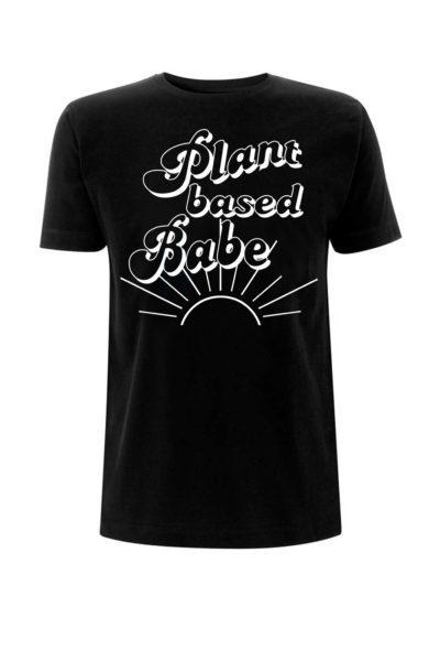Tee Plant Based Babe Black
