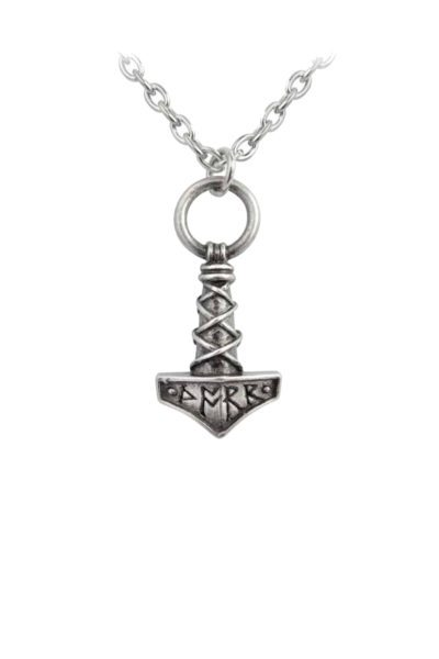 Thors Hammer Amulet Necklace