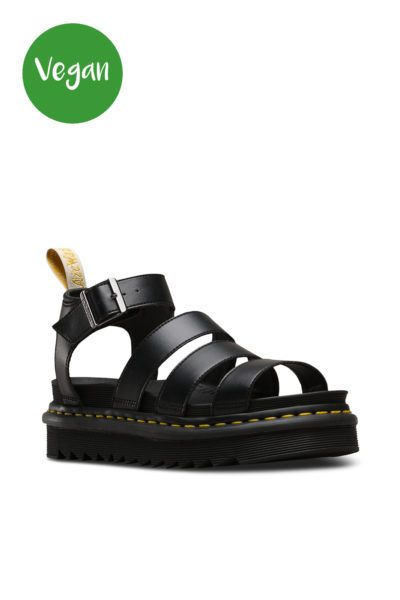 Vegan Blair Sandals Black