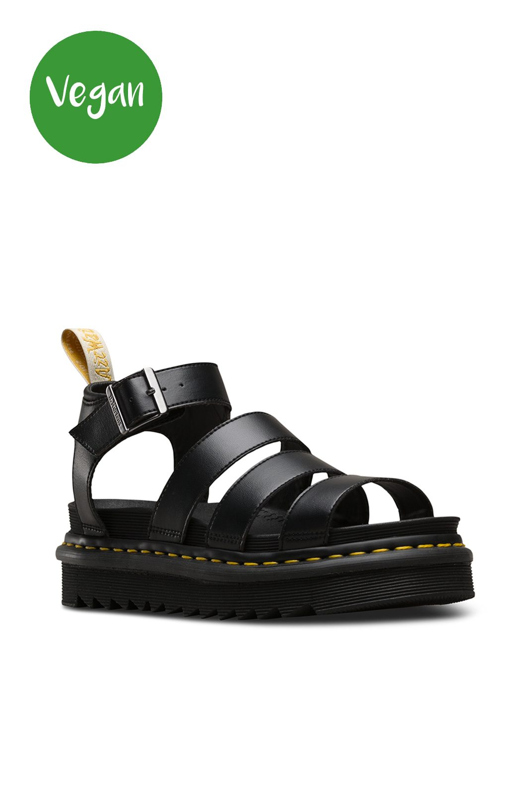 Vegan Blair Sandals Black