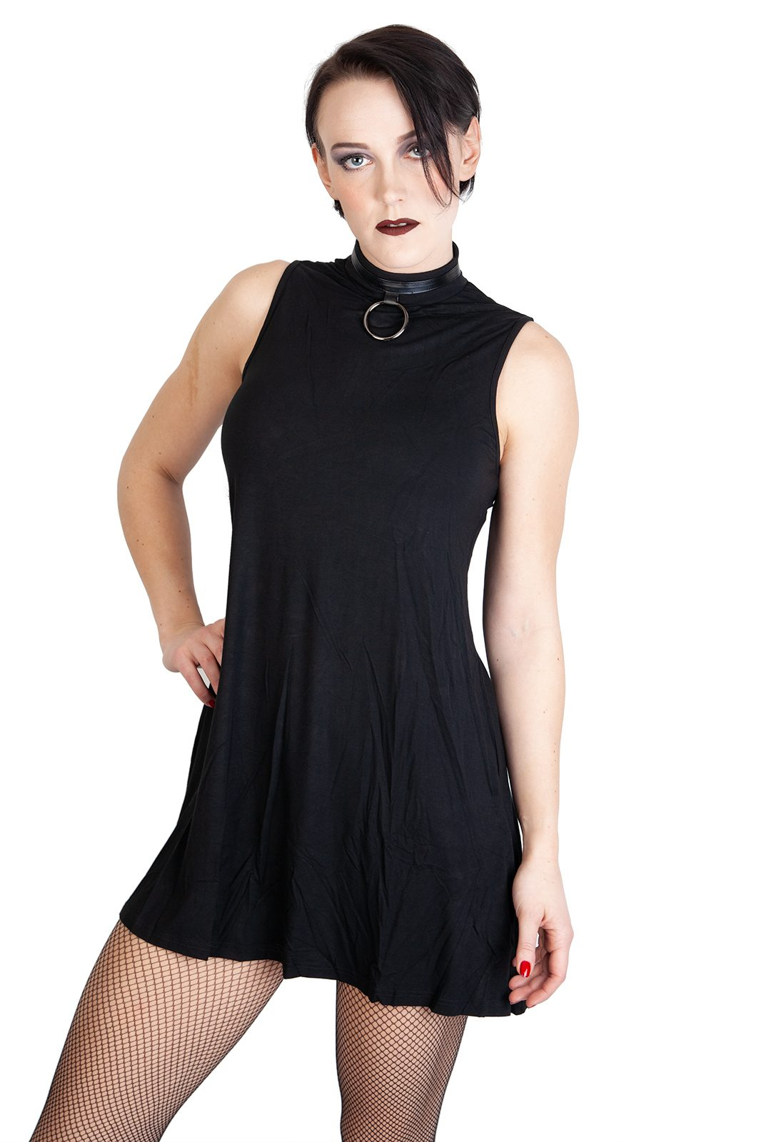 O Ring Dress Black