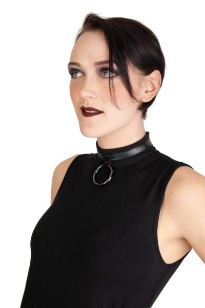 O Ring Dress Black