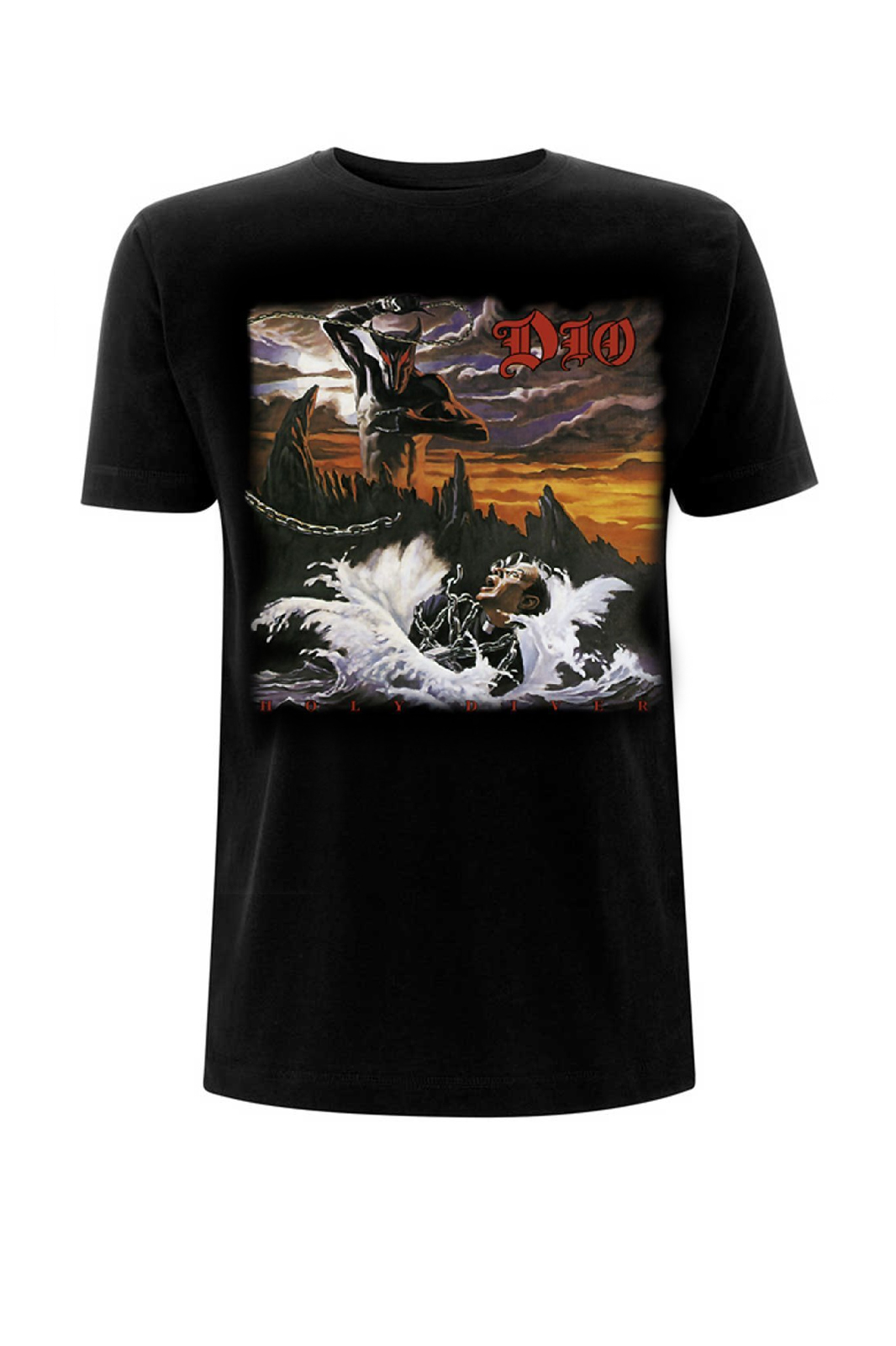 Tee Dio Holy Diver Black