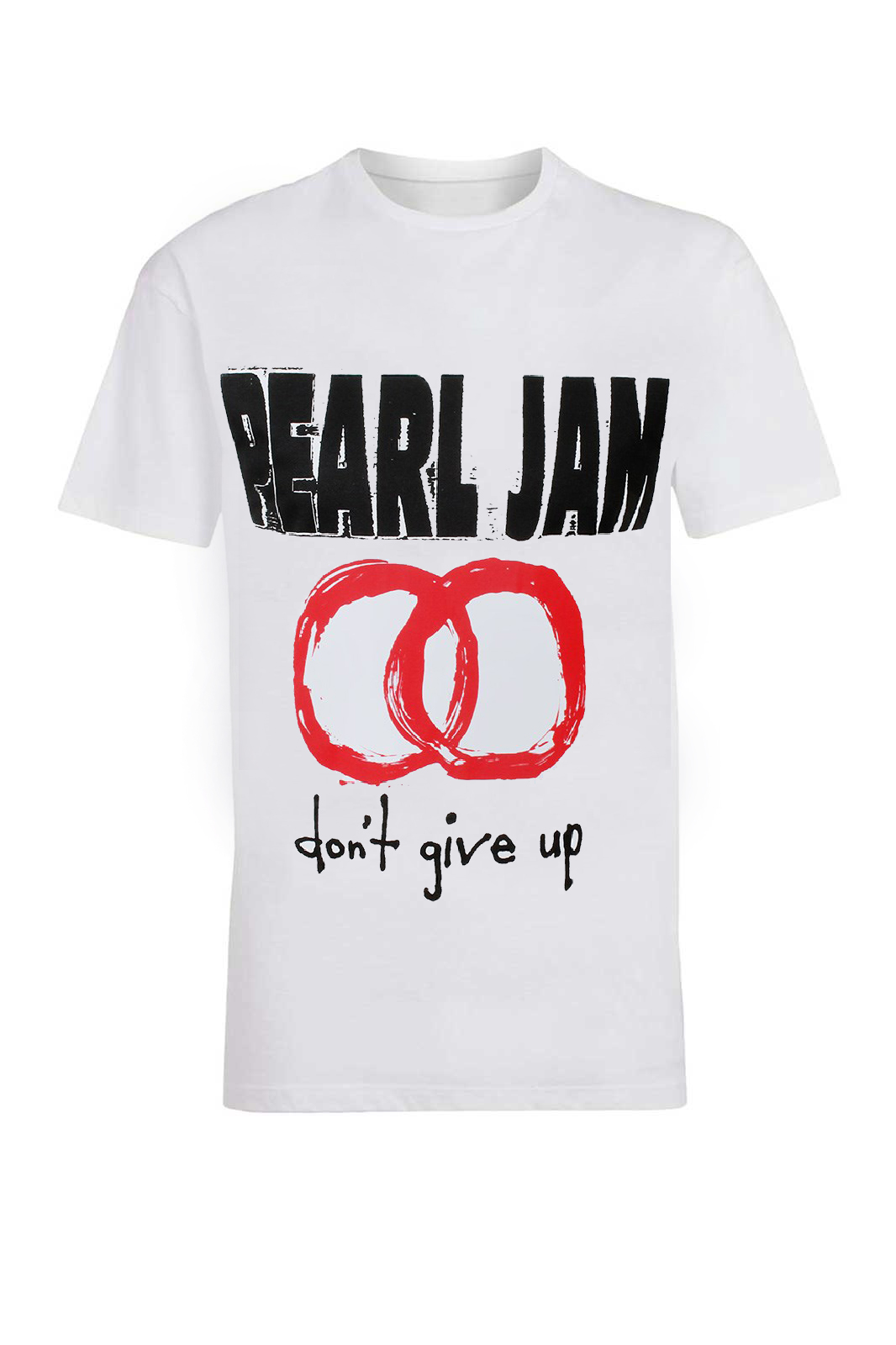 Tee Pearl Jam Dont Give Up Jam White