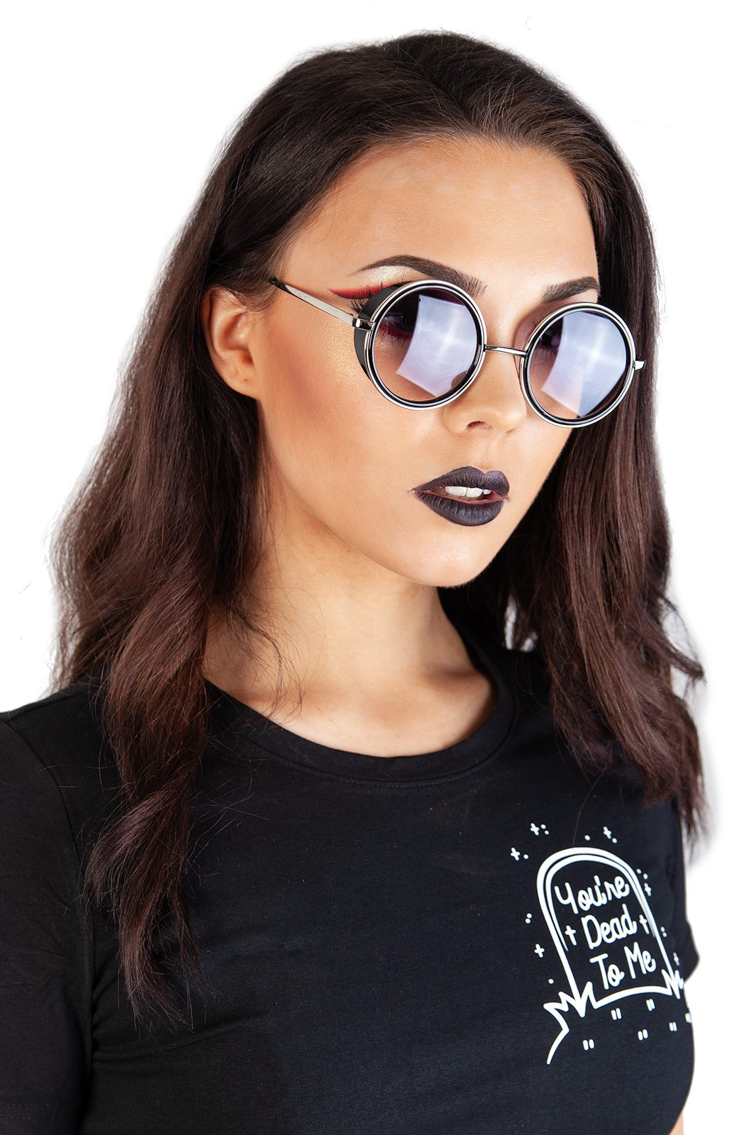 Steam Punk Sunglasses Dark Lens