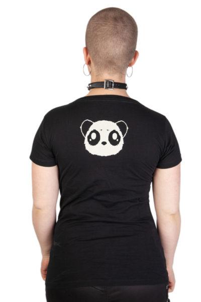 Tee Kp Parachute Panda Black
