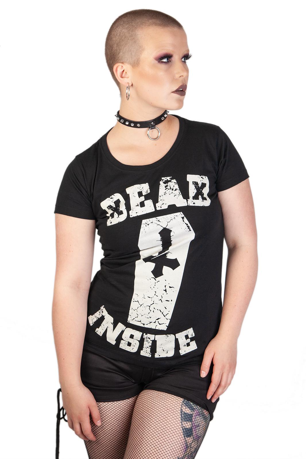 Tee Dead Inside Black