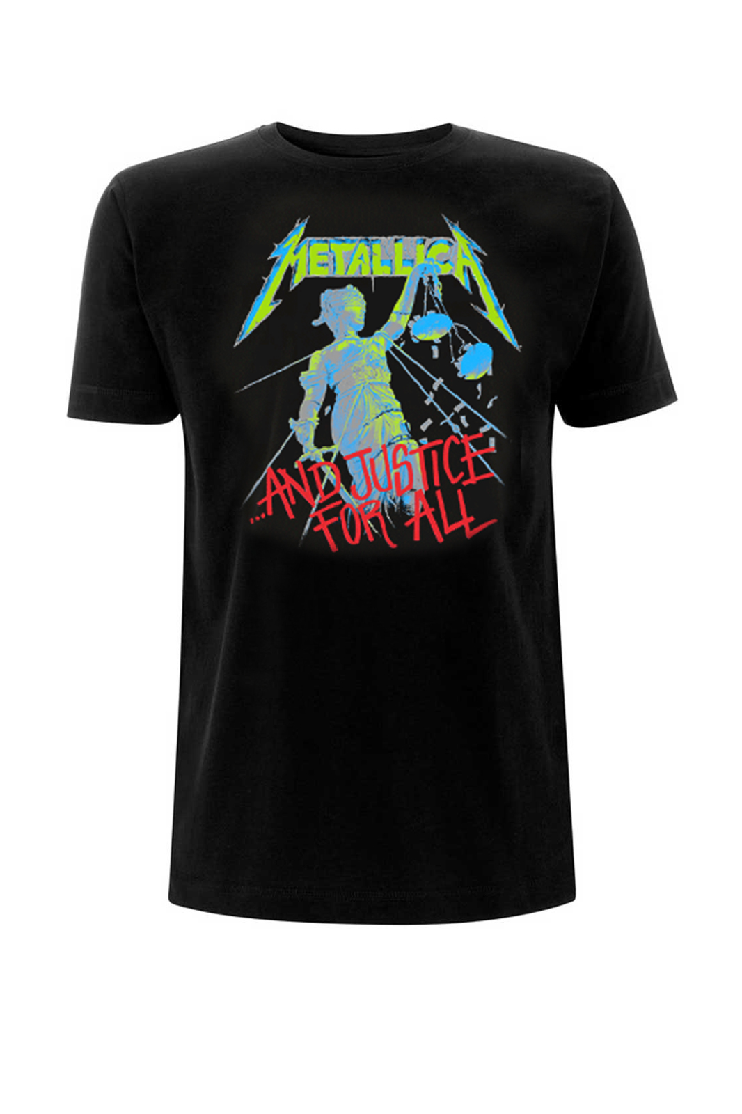 Tee Metallica And Justice For All Black