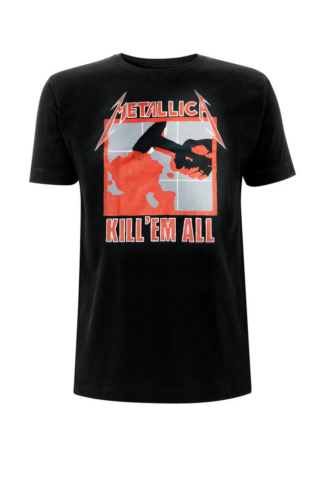 Tee Metallica Kill Em All Black