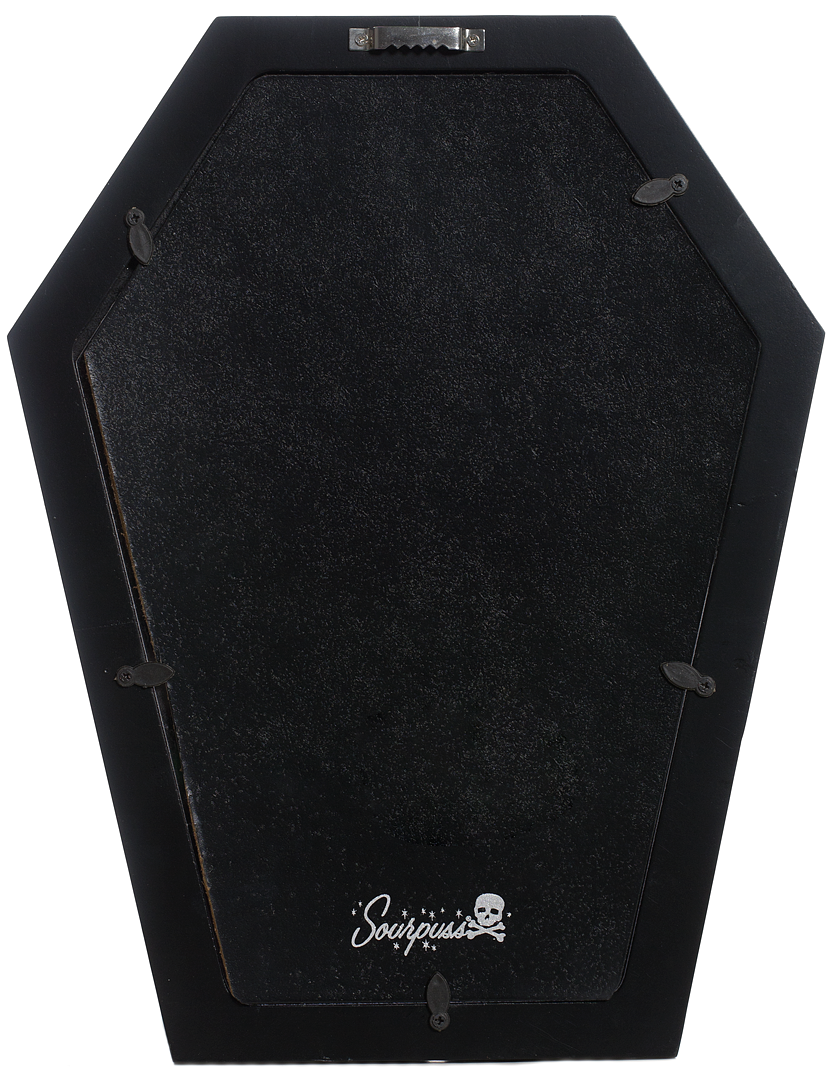 Coffin Mirror Black