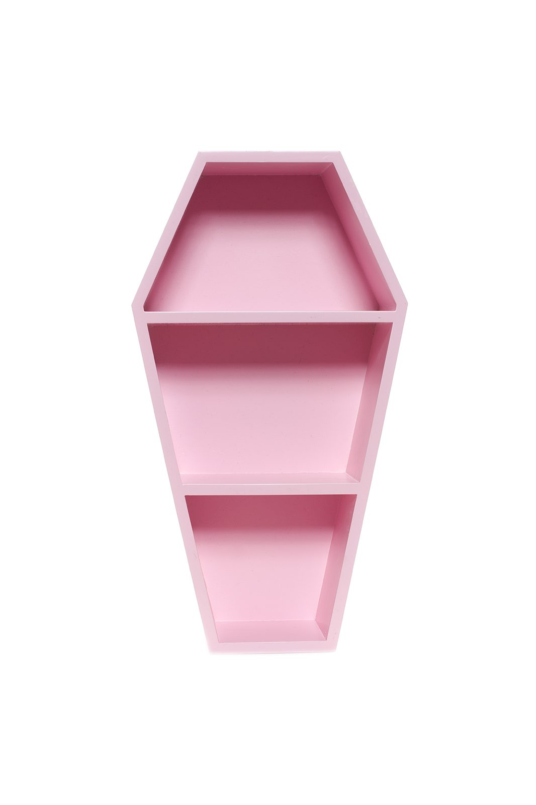 Coffin Wall Shelf Pink