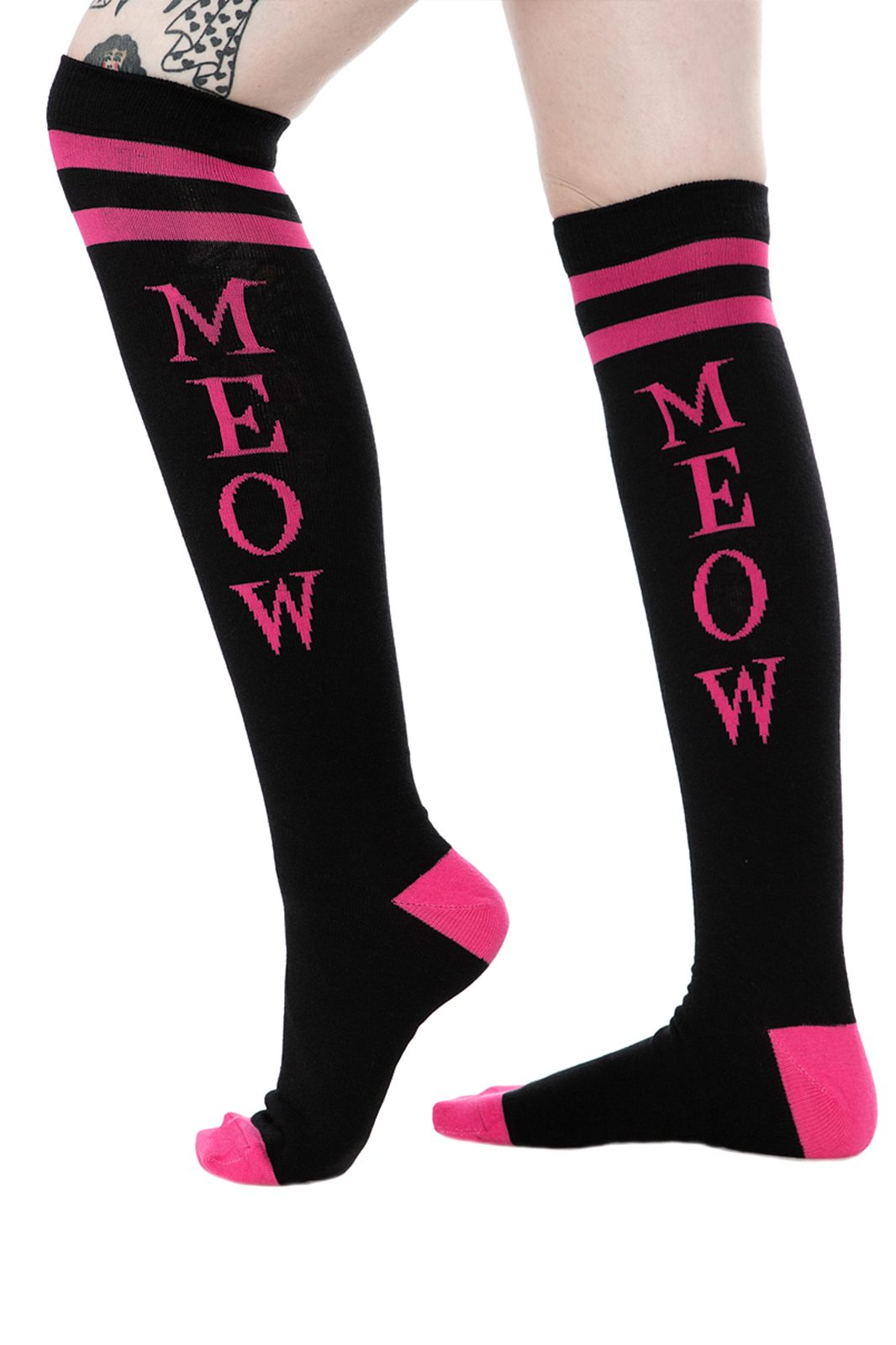 "Meow Socks 17"""
