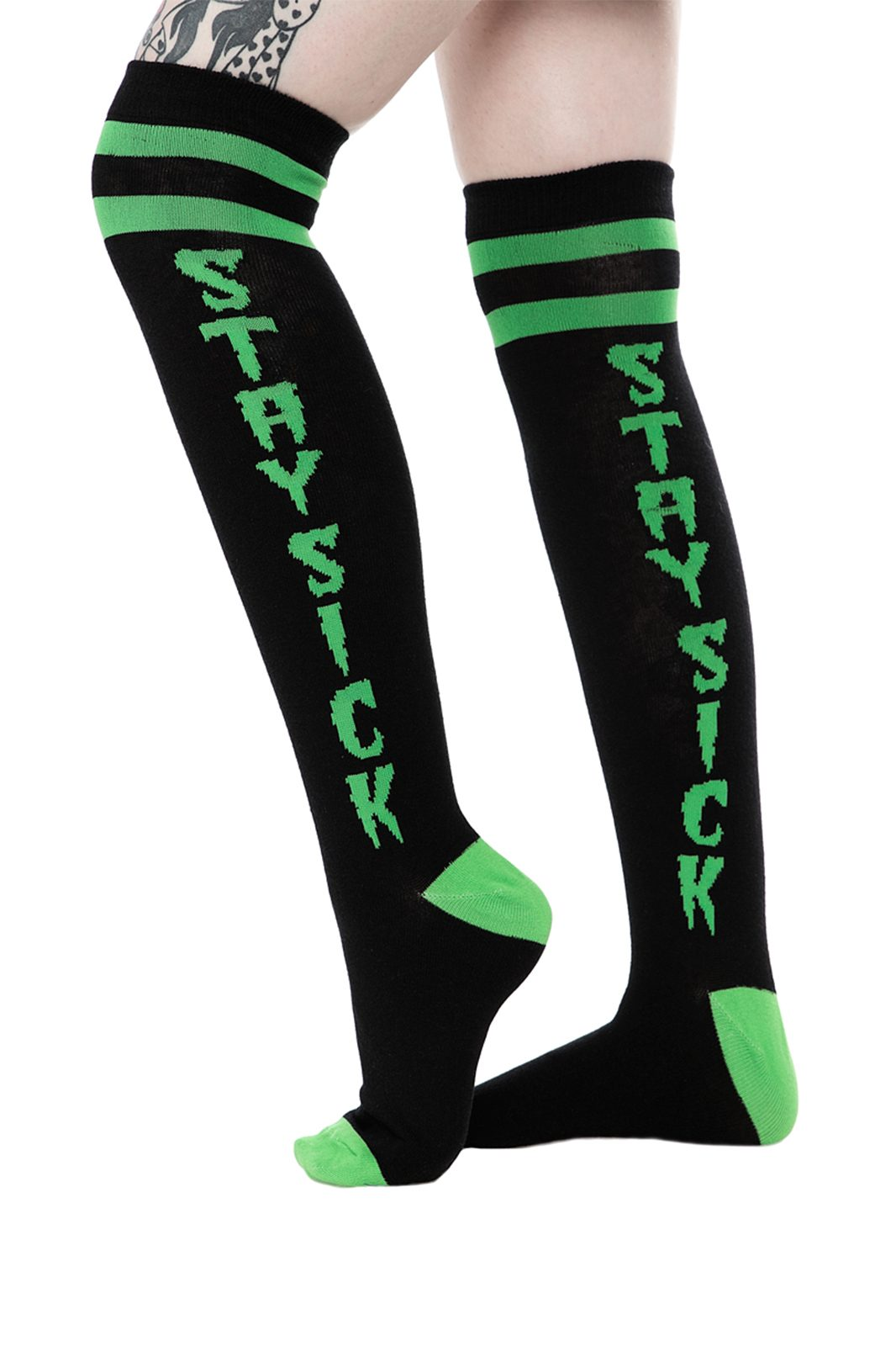 Stay Sick Socks 17""