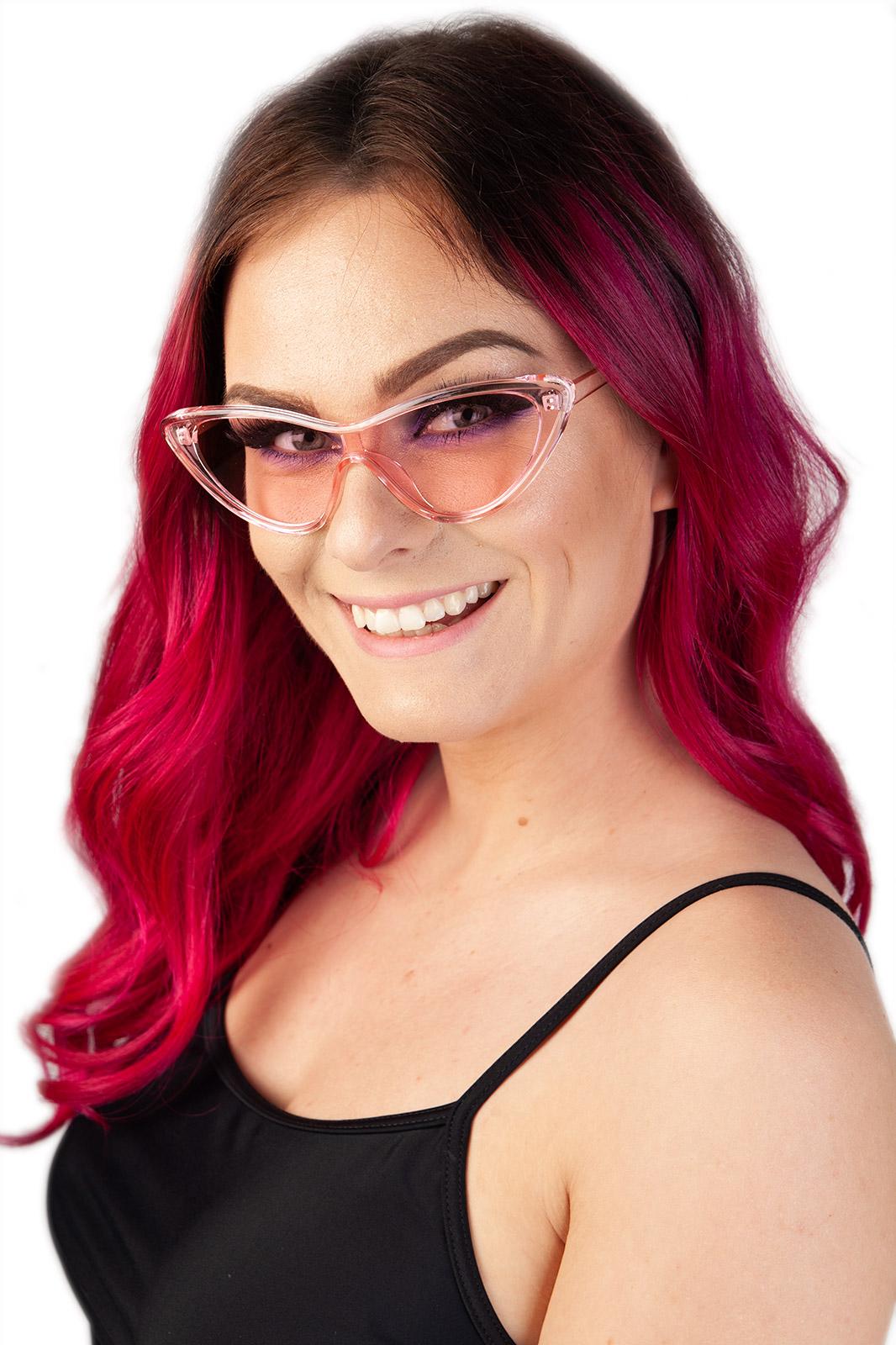 Future cats Sunglasses Pink