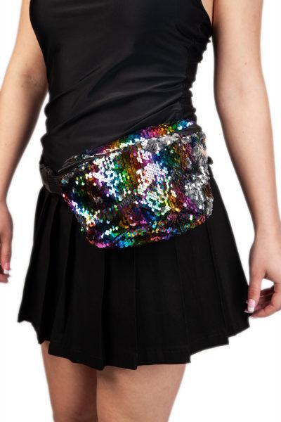 Sequin Bum Bag Multi Color