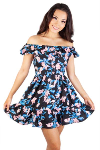 Florida Mini Dress Black