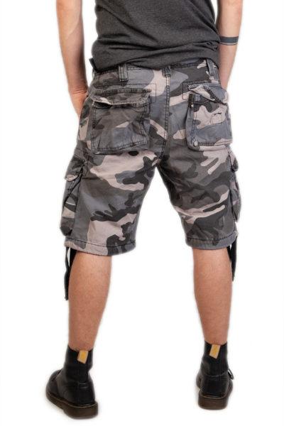 Airborne Vintage Shorts Night Camo Camo