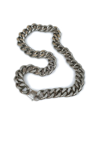 Necklace Peking Silver stainless steel