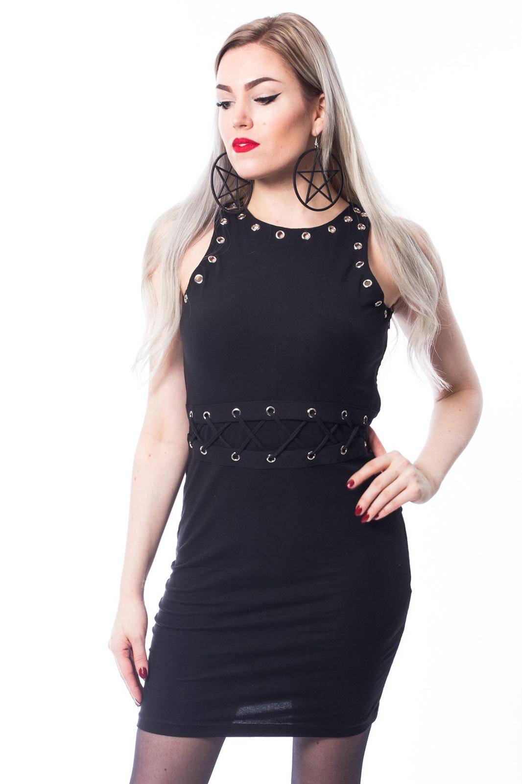 Vaisy Dress Black