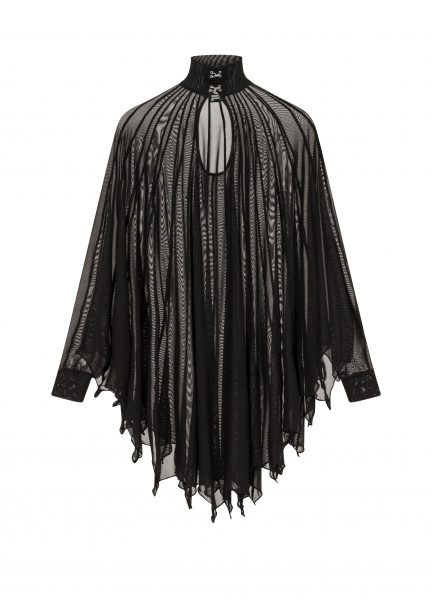 Cybele Bat Wing Dress Black