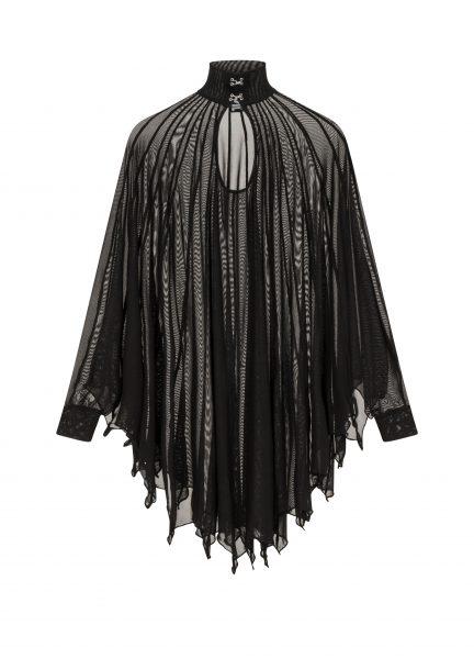 Cybele Bat Wing Dress Black
