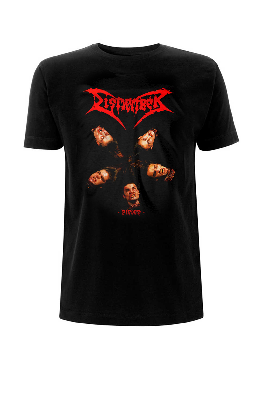 Tee Dismember Pieces Black
