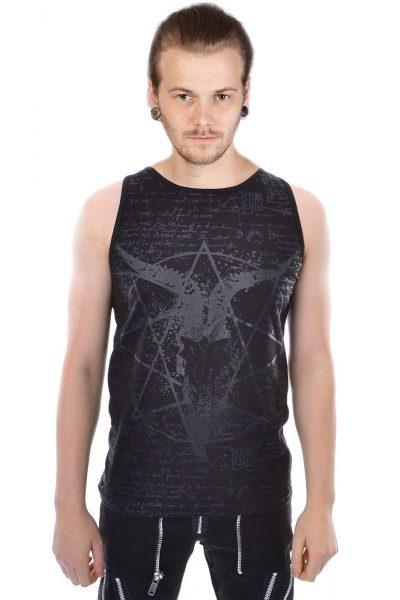 Pentagram Vest Black
