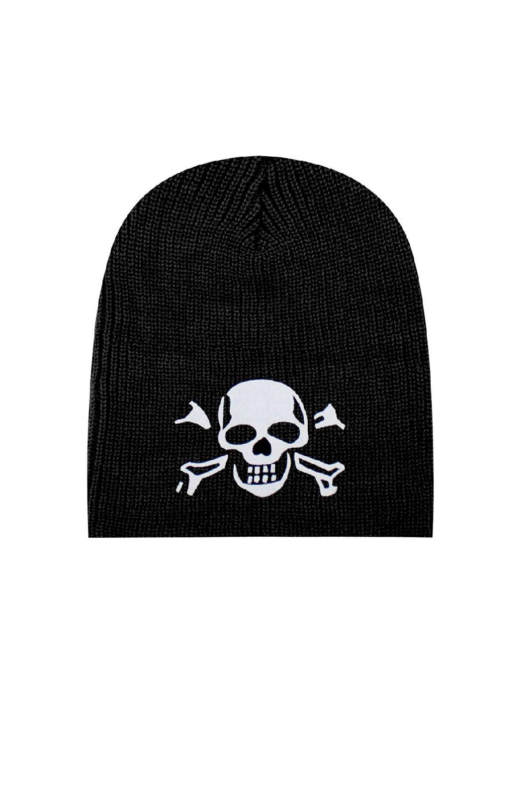 Knitted Beanie Skull