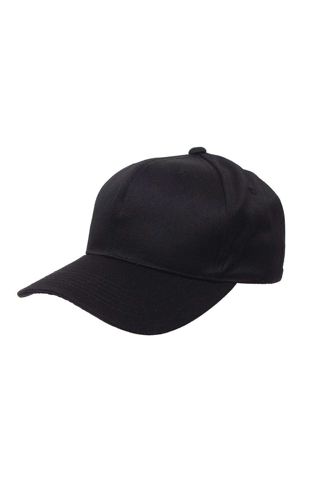 Plain Baseball Cap Black
