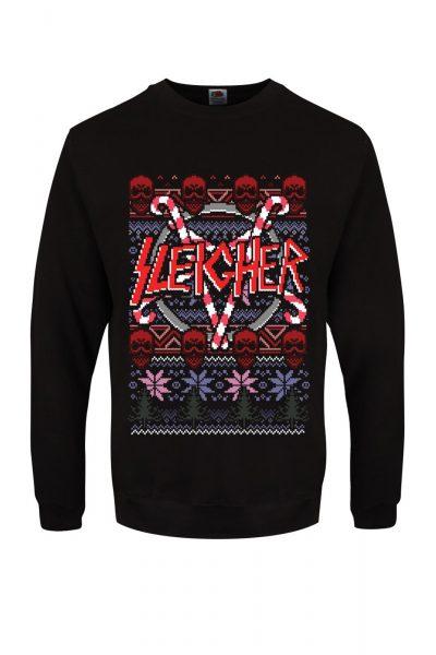 Christmas Jumper Sleigher Black