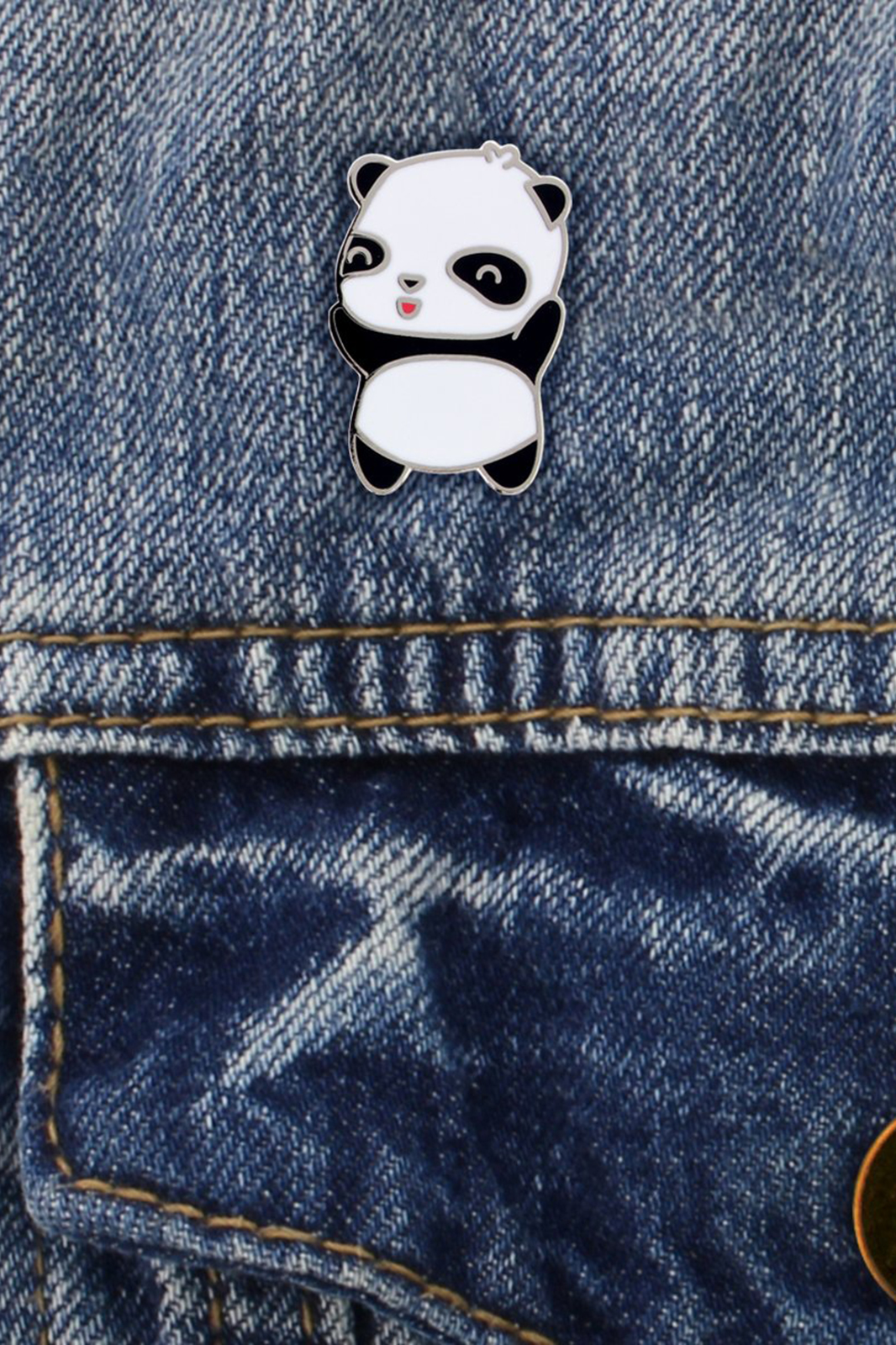 Kawaii Panda Enamel Pin