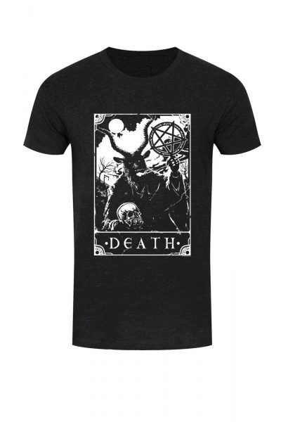 Tee Deadly Tarot Death Black