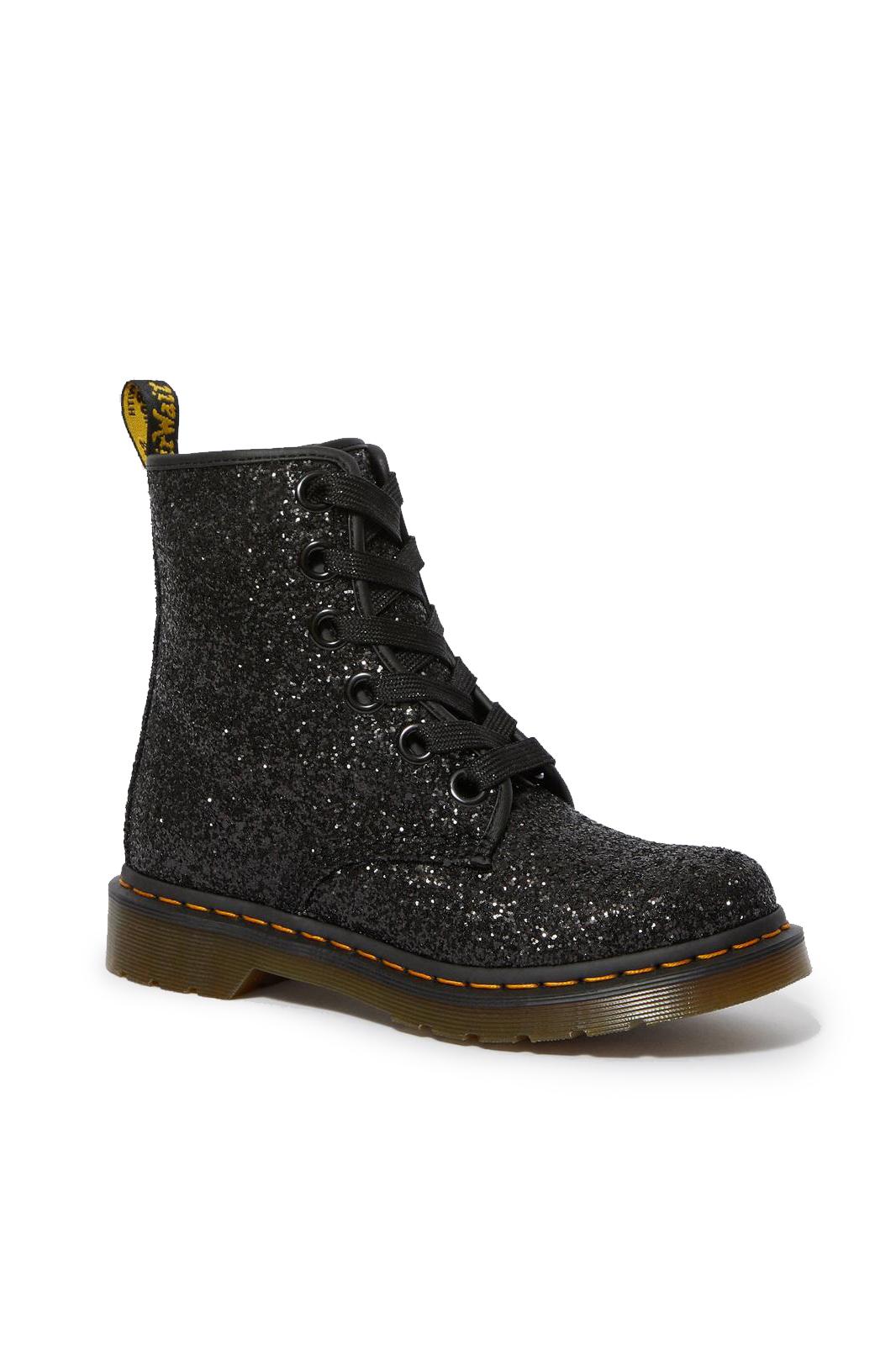 1460 Farrah Glitter Black