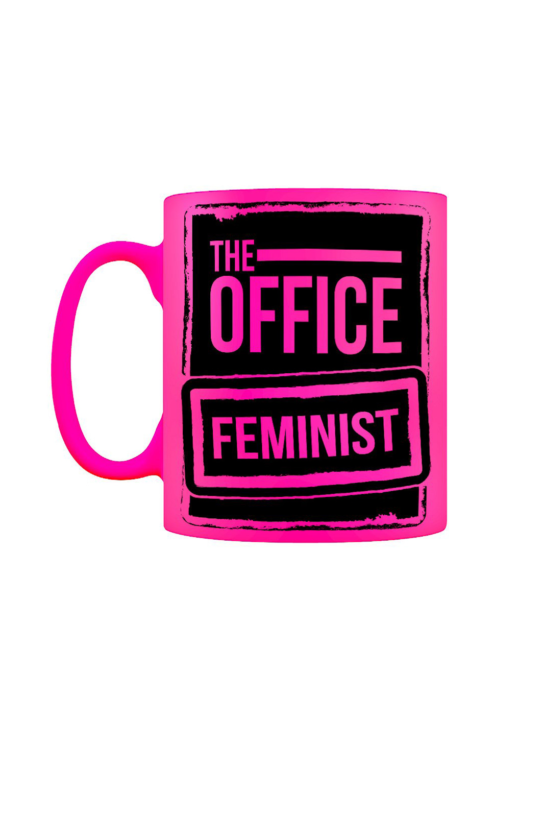 The Office Feminist Mug Pink