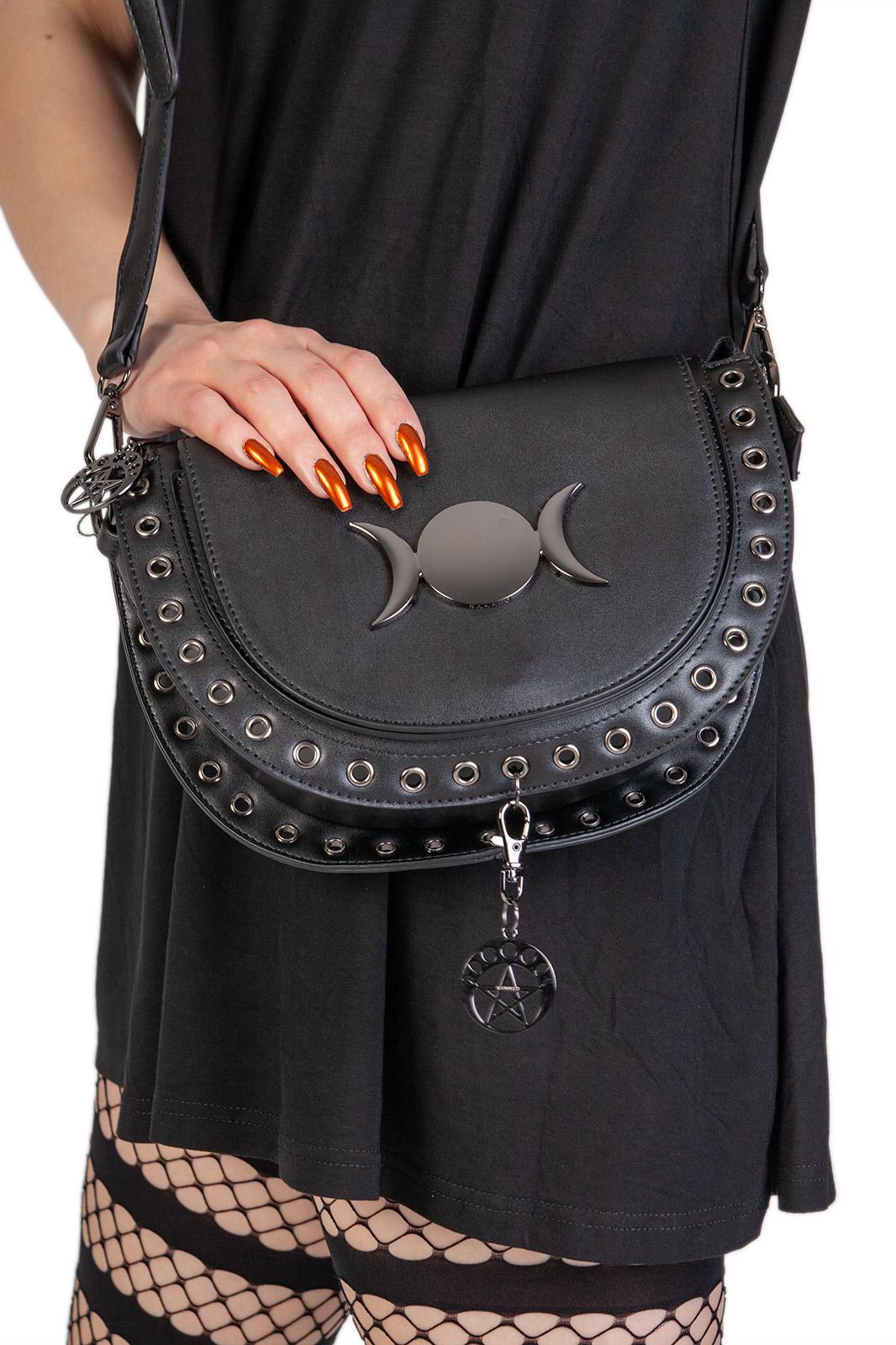 Vidonia Triple Moon Bag Shock Store