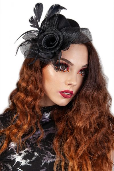 Passion Fascinator Hat