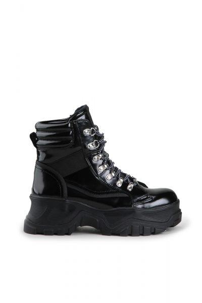 Fendo Ankleboots Black