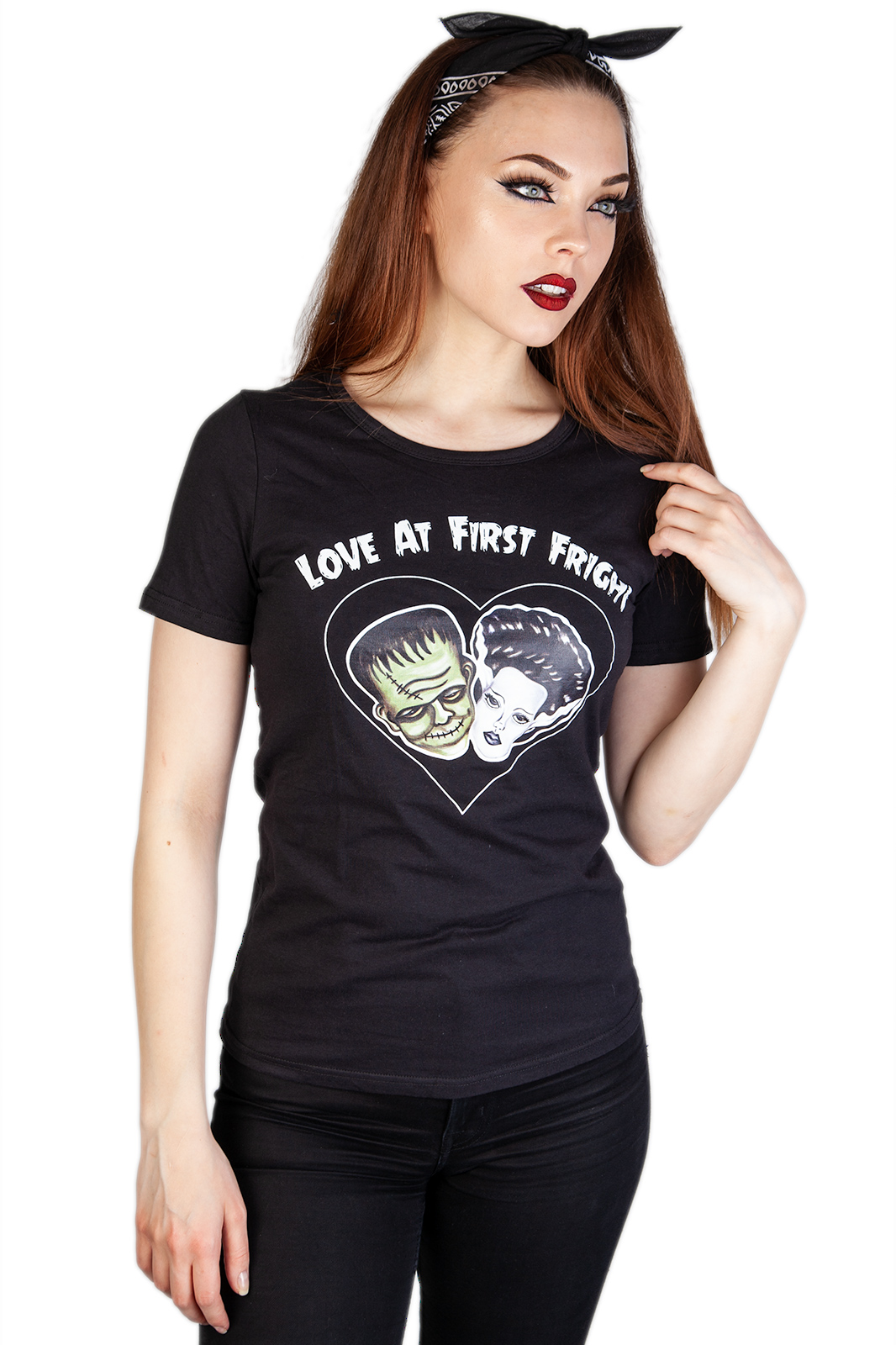 Love At First Fright Tee Black