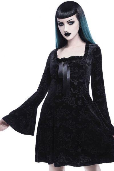 Under Your Spell Maiden Dress Black